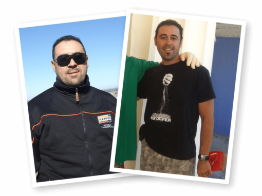 José Gómez ha adelgazado 20 Kilos en Sevilla