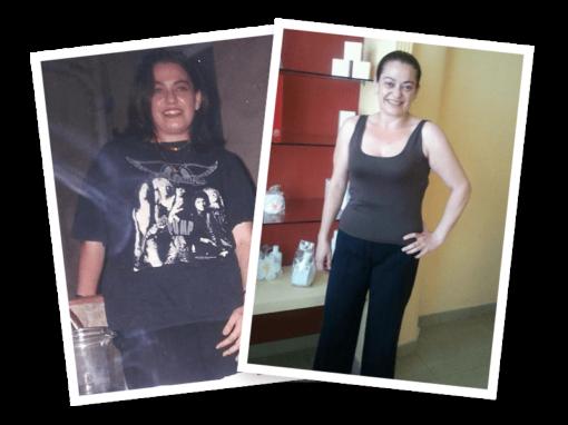 Inés Ramírez ha adelgazado 21 Kilos en Elda