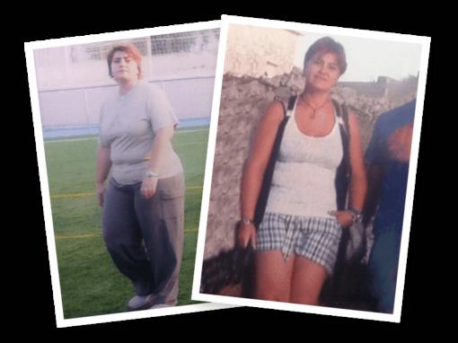 María José Carreo ha adelgazado 35 Kilos en Elda