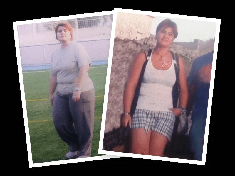 Perdió peso, 35 kilos sin pasar hambre