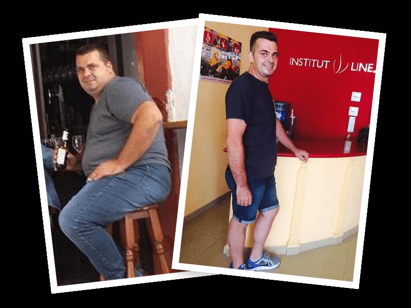En solo 4 meses perdió 41 kilos totalmente reafirmado