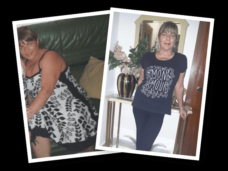 En 4 meses perdió 23 kilos de forma natural