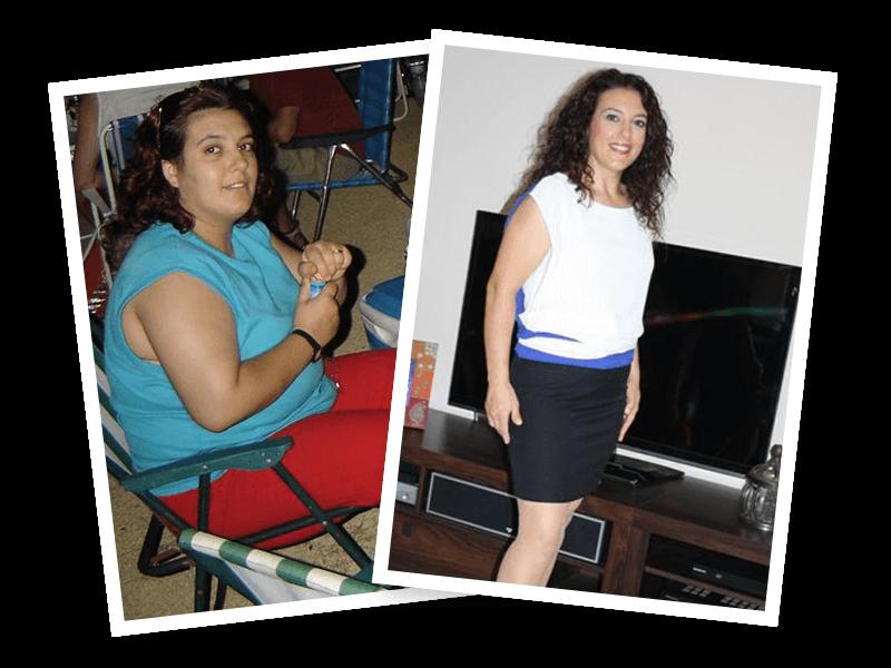 24 kilos menos en 4 meses te hace feliz