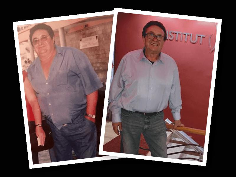 40 kilos menos en 6 meses siendo constante