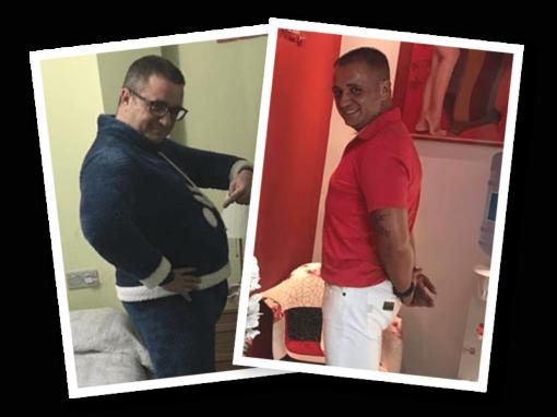 23 Kg en 3 meses y 20 cm de abdomen en Castelldefels
