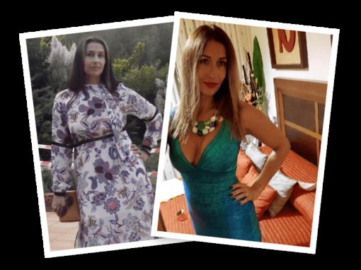 Olga ha perdido 2 tallas en 6 semanas en Alicante