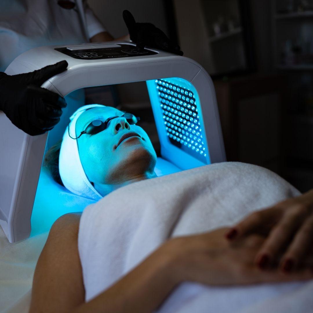 tratamientos con luces led